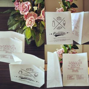 jual paper bag foodgrade