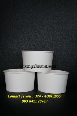 Jual Paper Bowl 12 oz Berbahan Kertas Food grade Laminasi PE