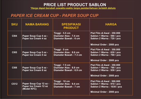 price-list-sablon-paper-soup-cup-paper-ice-cream-cup